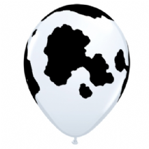 Cow Print Balloons - 11 Inch Balloons 25pcs